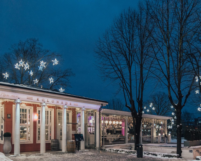 Where to eat in Riga, Latvia: Kolonade Restaurant