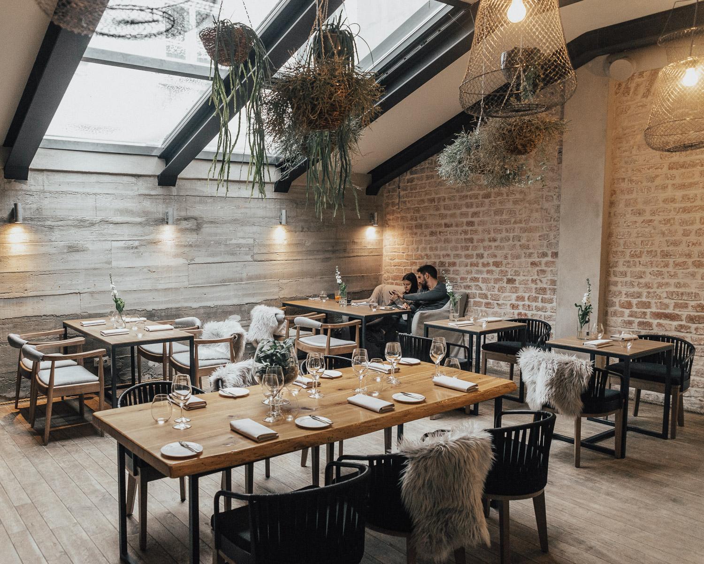 Cozy interior, MUUSU Restaurant