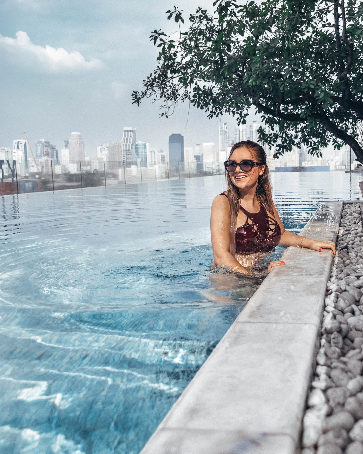 What to Wear in Thailand: Carro for HKM Bikini Fashion at So Sofitel in Bangkok