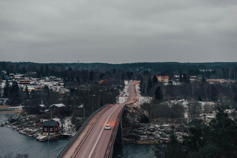 View from Café Uffe på Berget