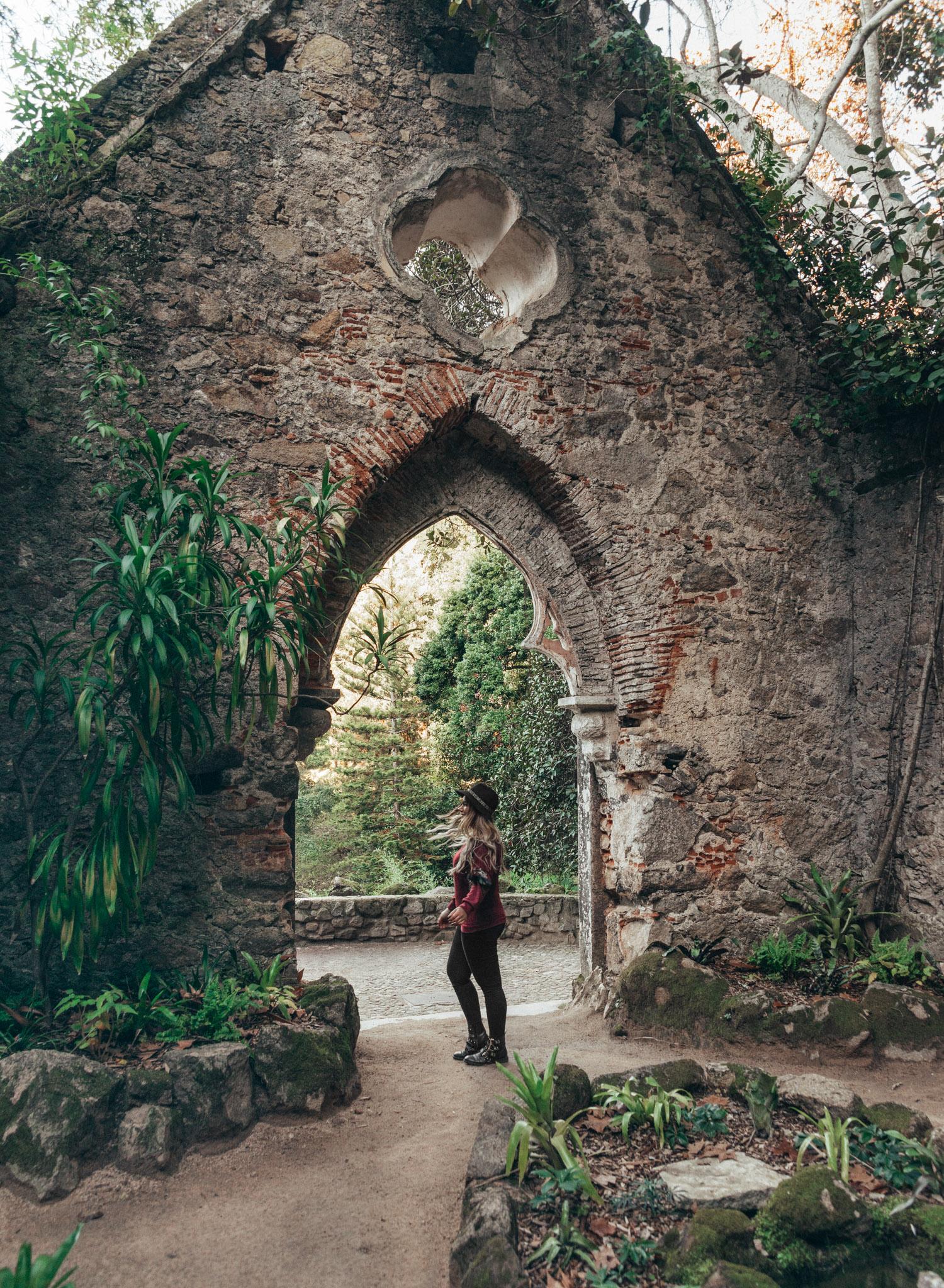 Adaras in Monserrate Palace garden, Portugal