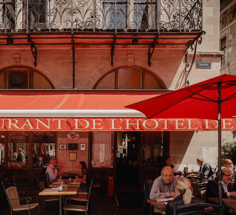 Cafe Restaurant de l'hotel de Ville, Geneva