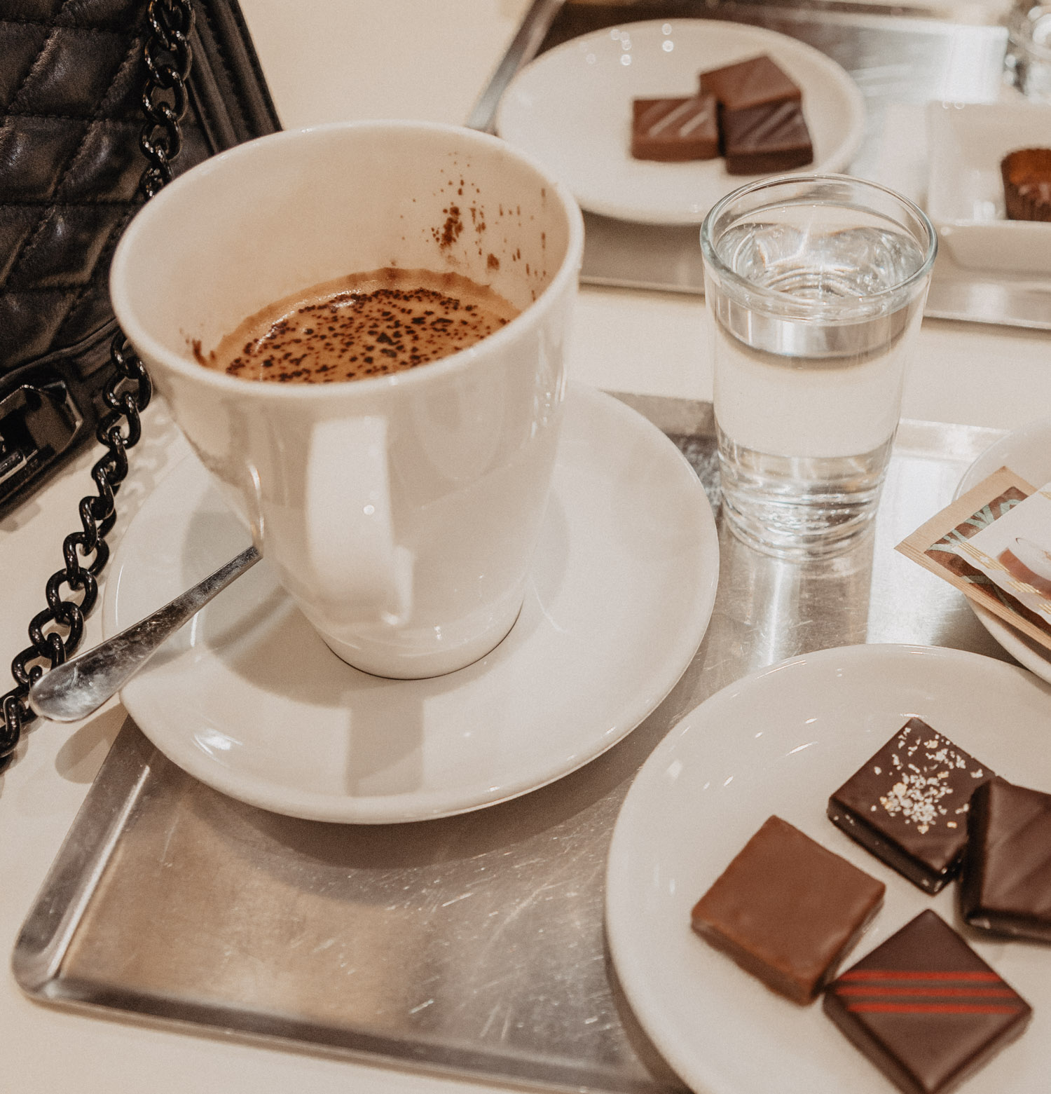 Café & Chocolates at Du Rhône Chocolatier, Geneva