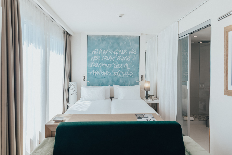 Hotel N'vy Hotel Room in Geneva, Switzerland
