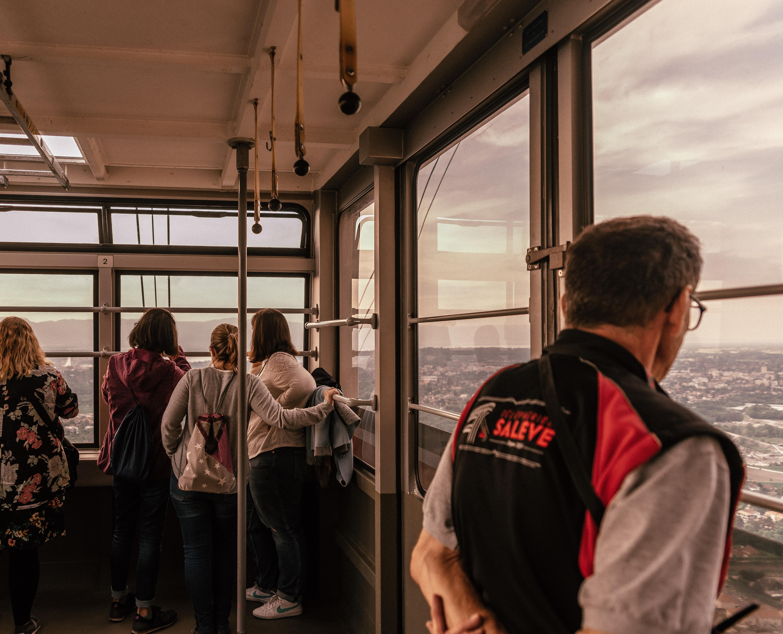 Mont-Salève Cable Car Sunset