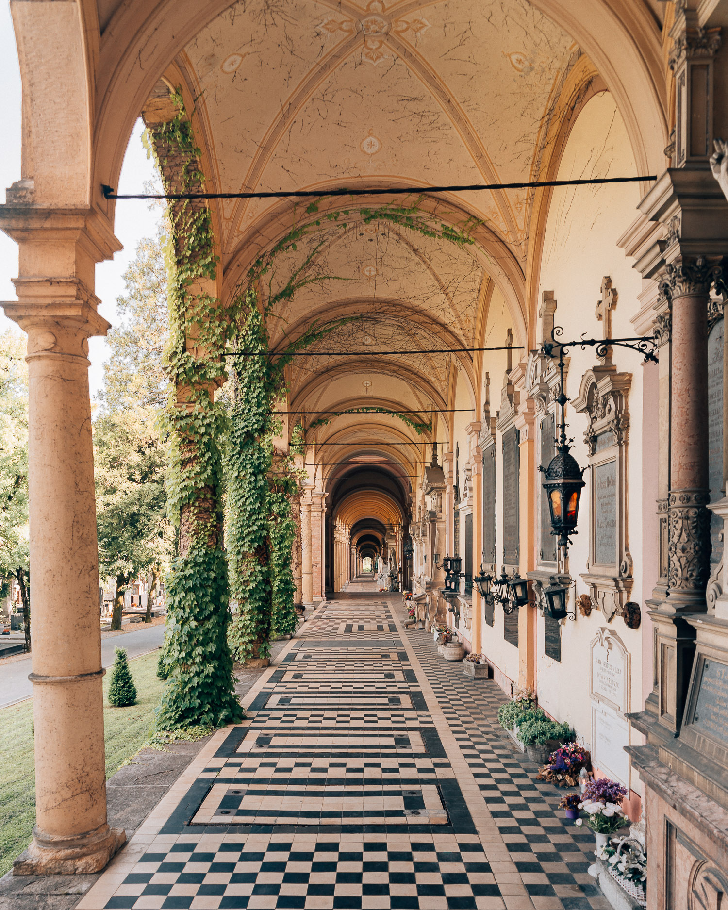 The Mirogoj Cemetery Park in Zagreb