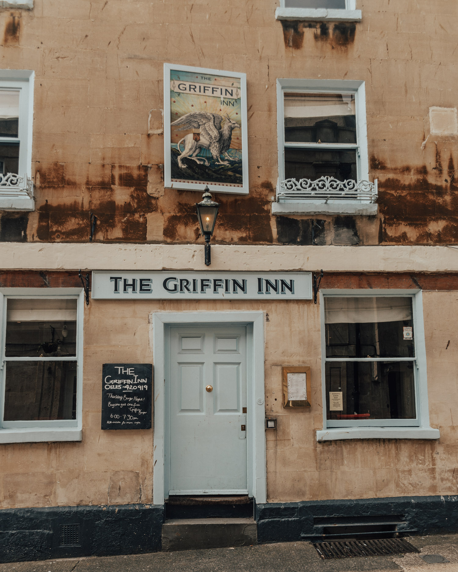 The Griffin Inn, Bath, Somerset, UK
