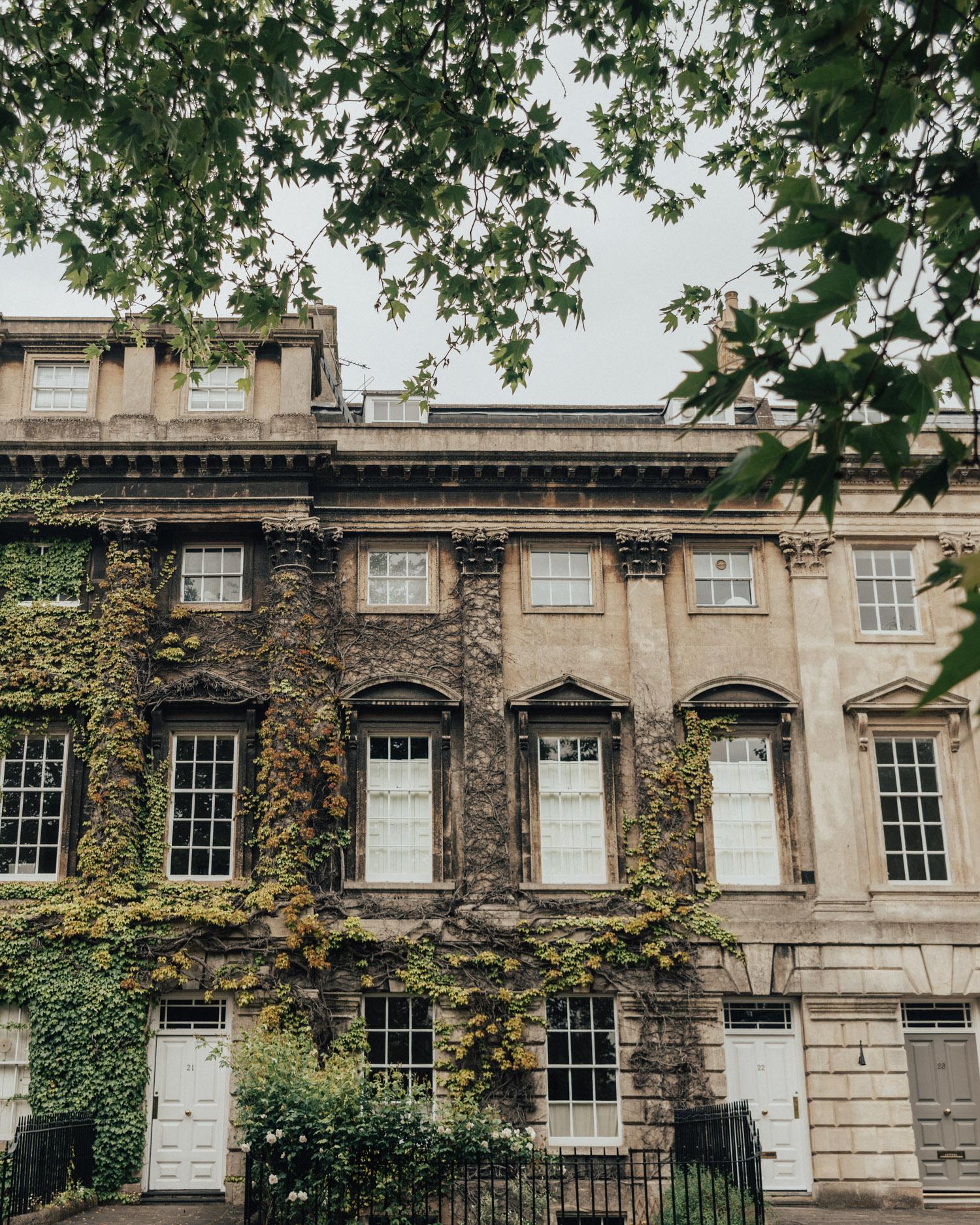 Georgian architecture in Bath, Somerset, UK