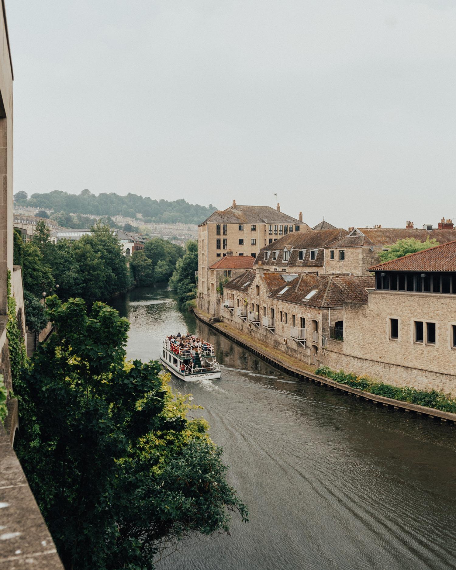 River in Bath, UK