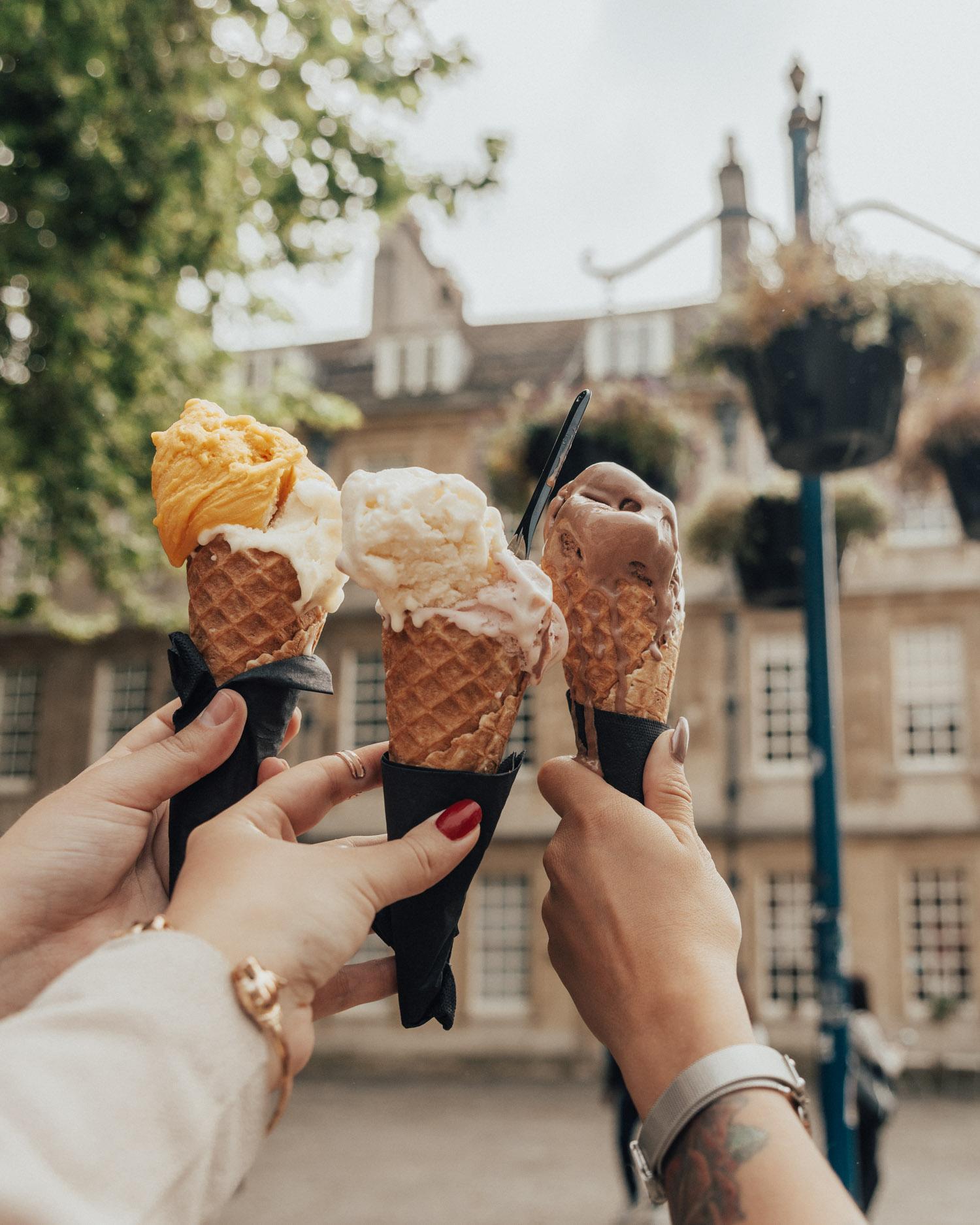 Swoon Gelato in Bath, England