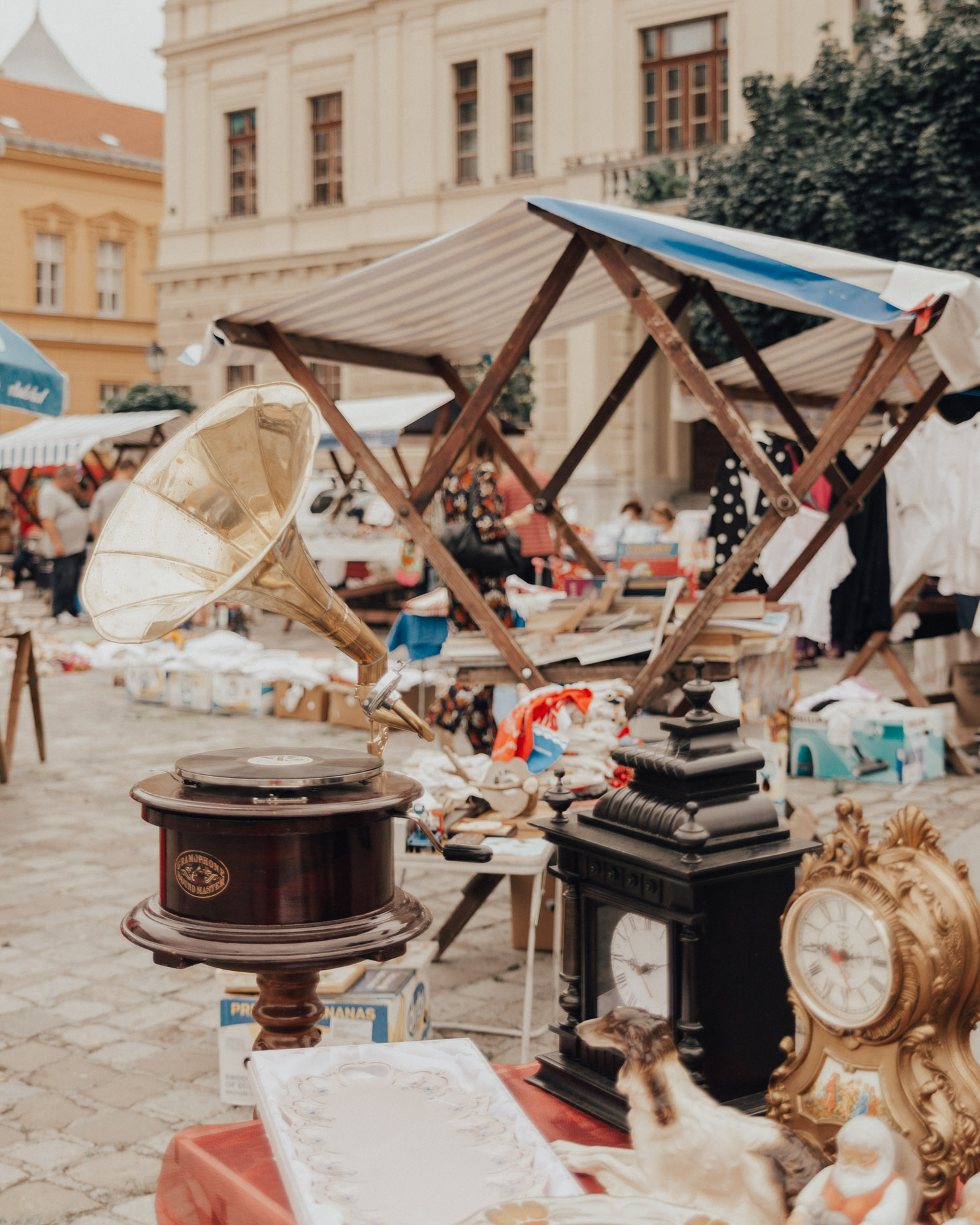 Things to Do in Slavonia |Visit the Antique market in Osijek