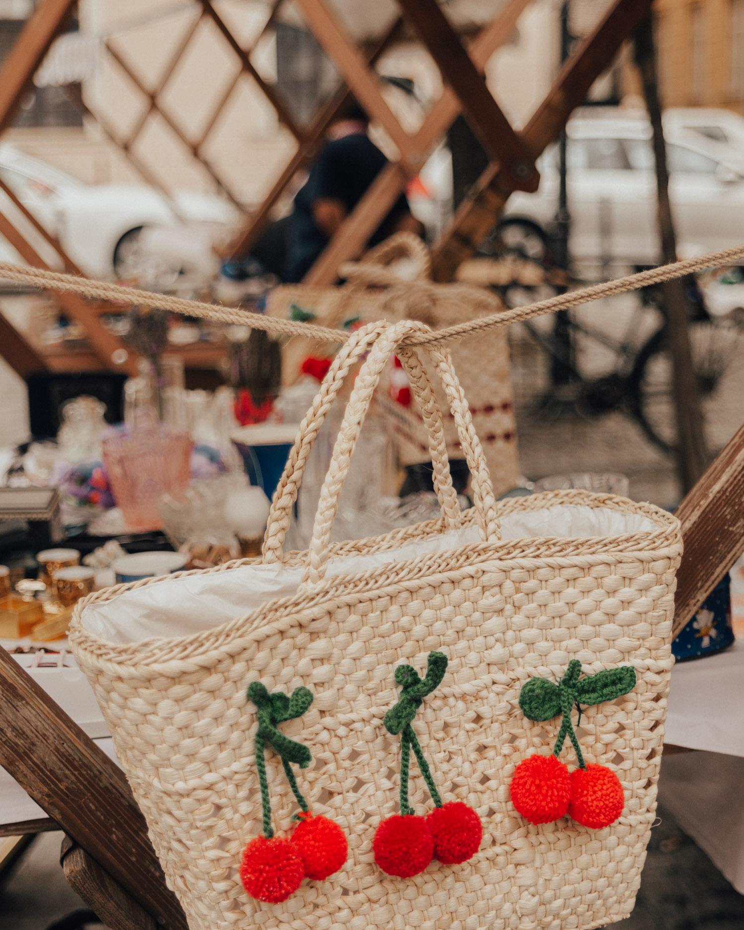 Antique market in Osijek, Croatia