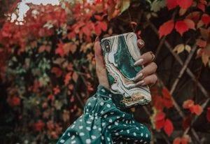 Höstens snyggaste iPhoneskal | Golden Jade Marmor från iDeal of Sweden