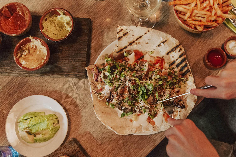 Dinner at Bambalan Restaurant in Bristol