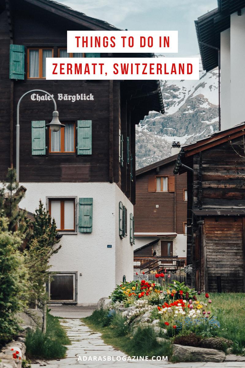 Things to Do in Zermatt, Switzerland