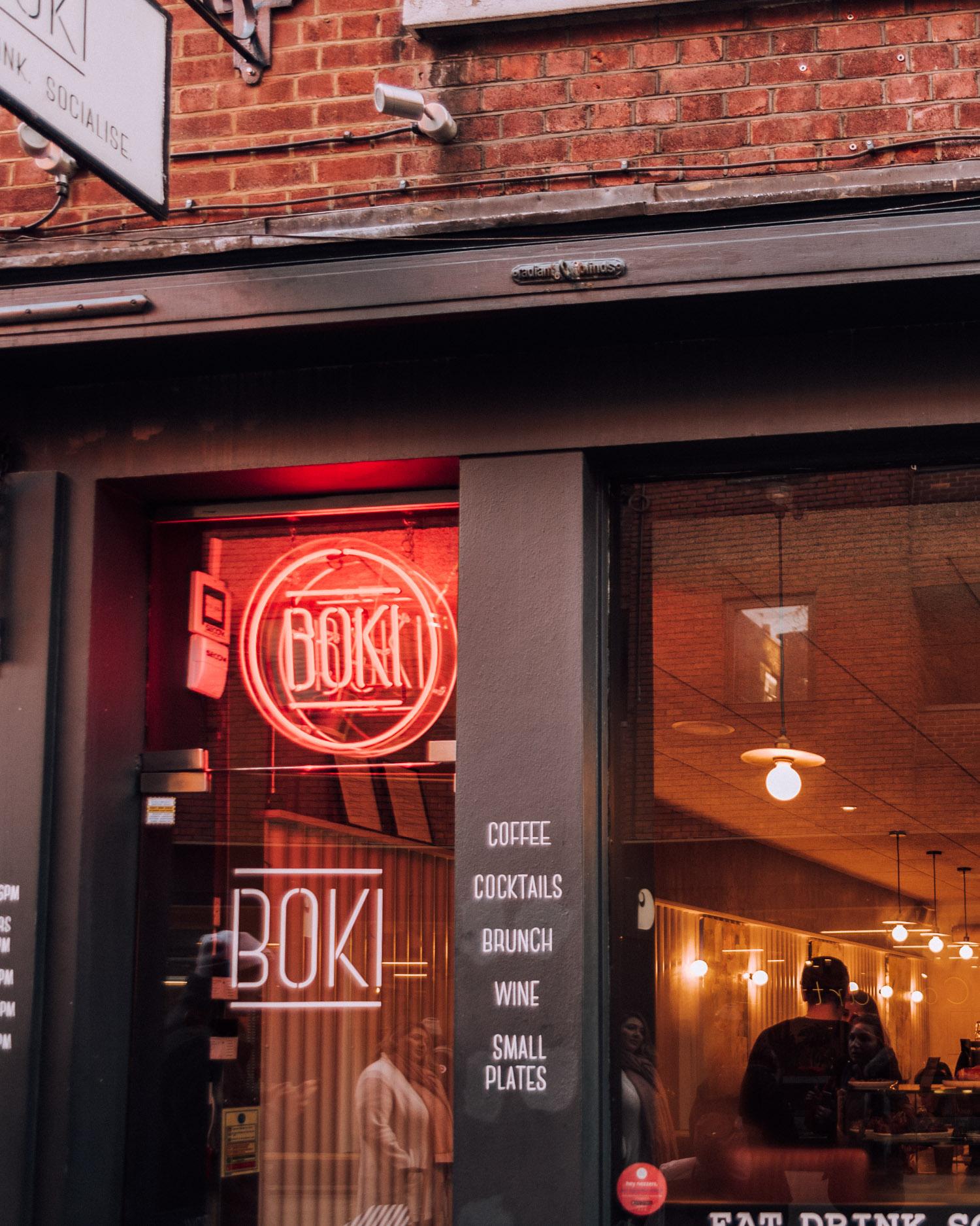 Boki, London - Covent Garden, Coffee Shop