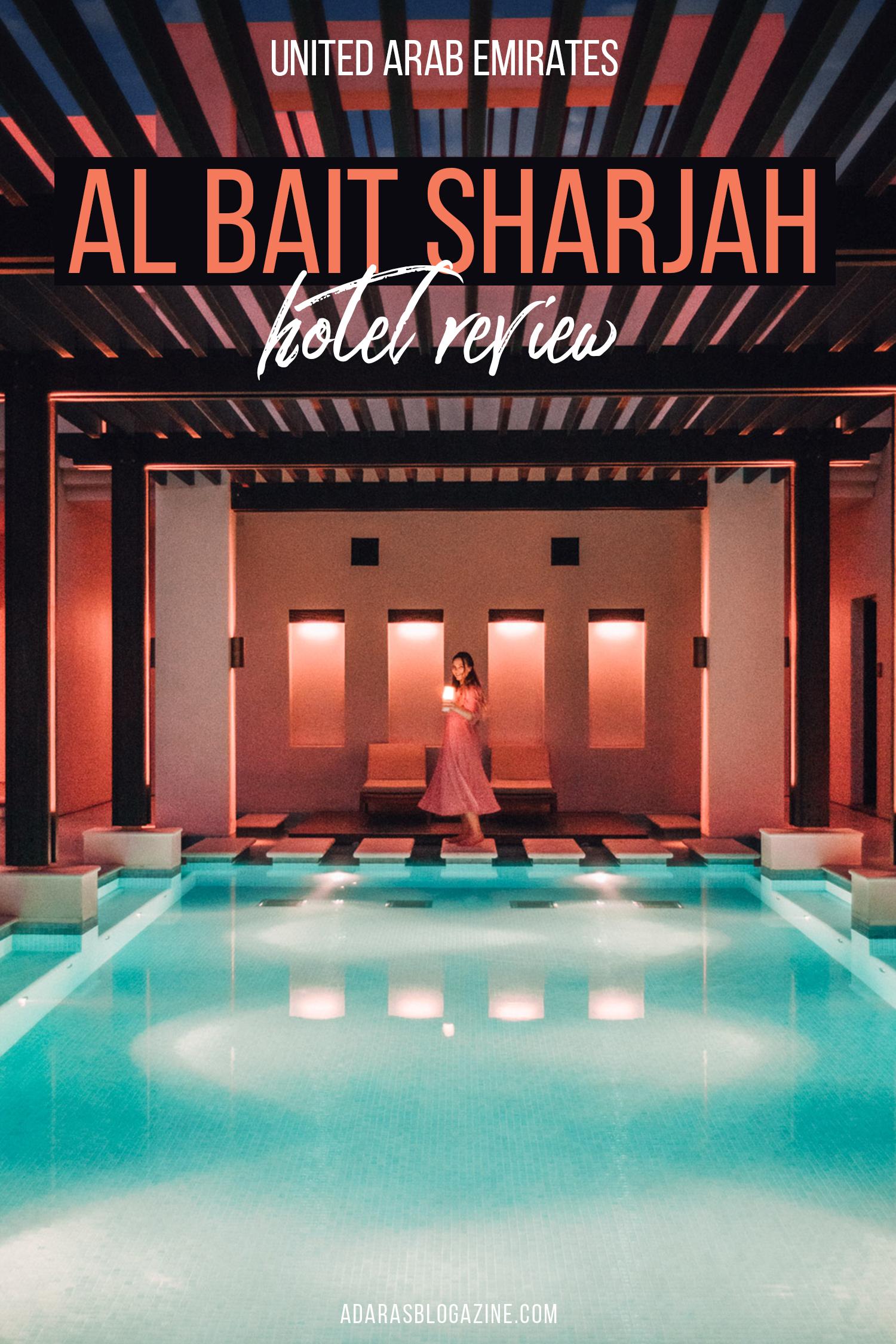 Al Bait Sharjah Luxury Hotel Review |UAE