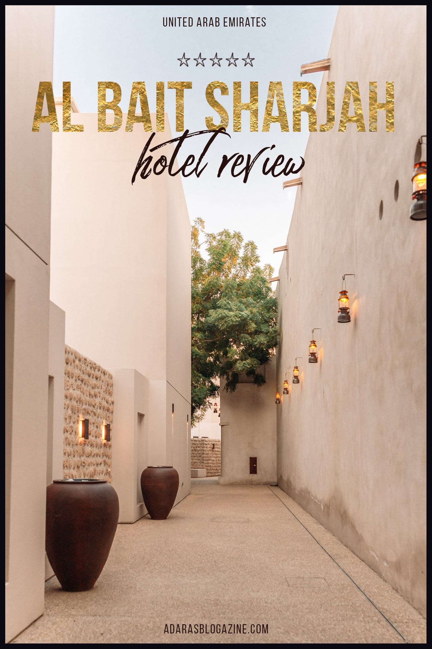 Al Bait Sharjah Resort Review, United Arab Emirates