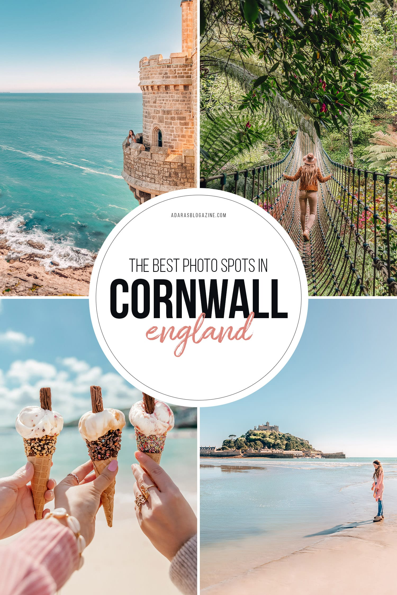 The Best Instagrammable Places in Cornwall, UK
