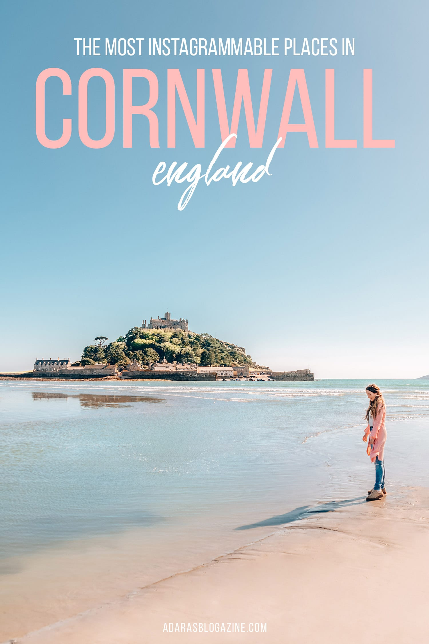 The Most Instagrammable Places in Cornwall, UK - GUIDE