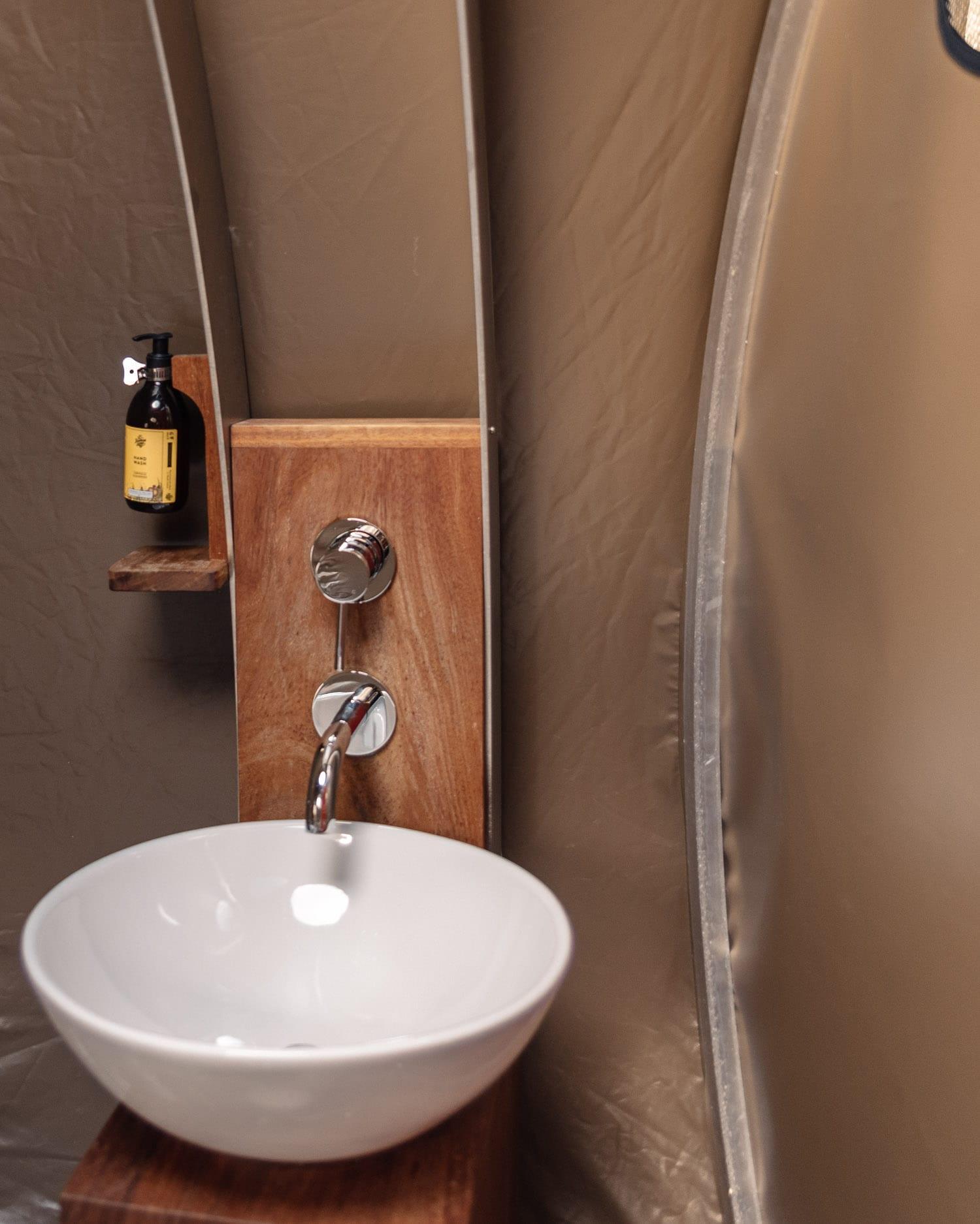Bathroom - Finn Lough Bubble Domes Hotel in Northern Ireland