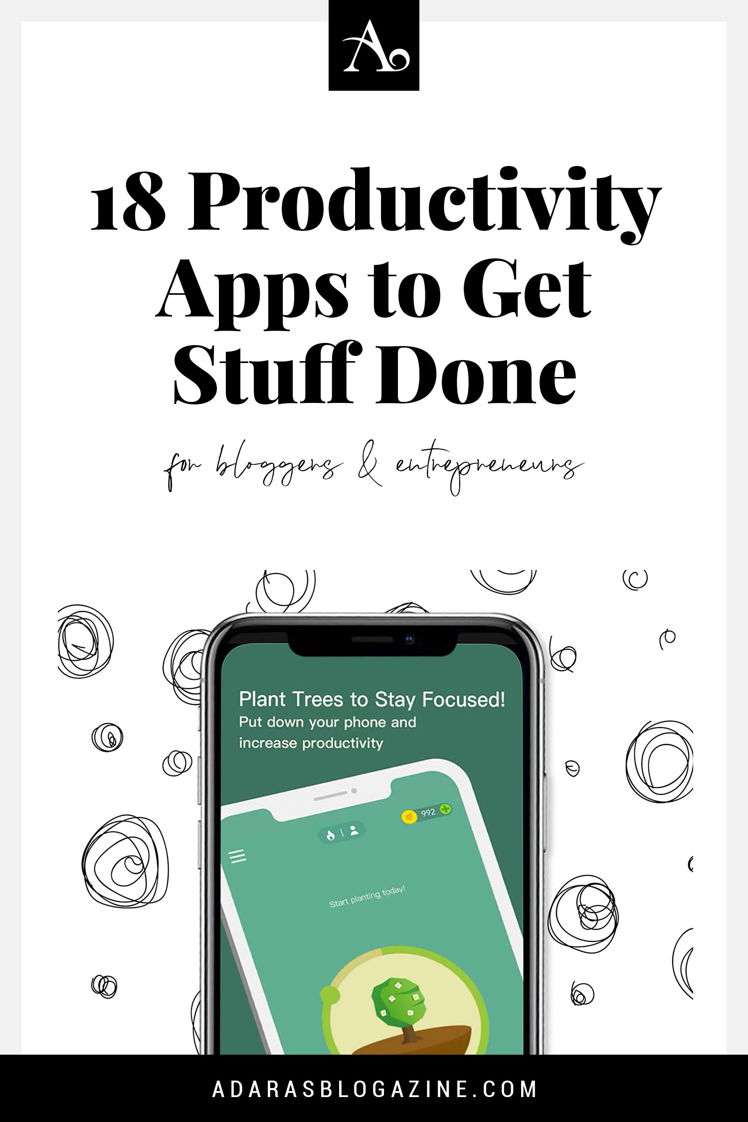 18 Productivity Apps to Get Stuff Done - For Bloggers & Entrepreneurs