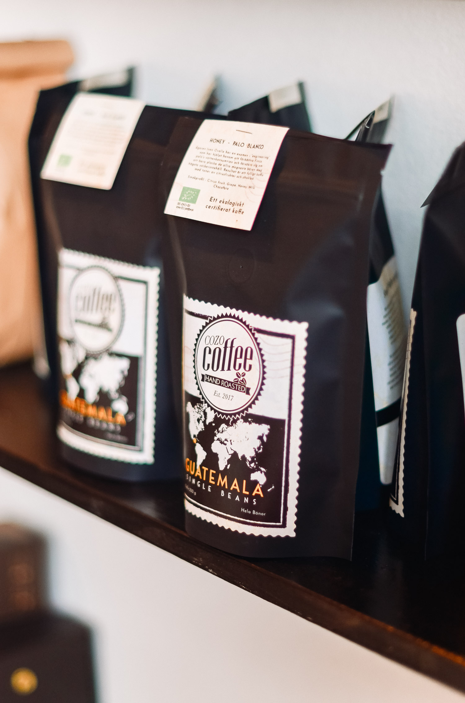 Sustainably grown specialty coffee from Cozo Coffee in Örebro