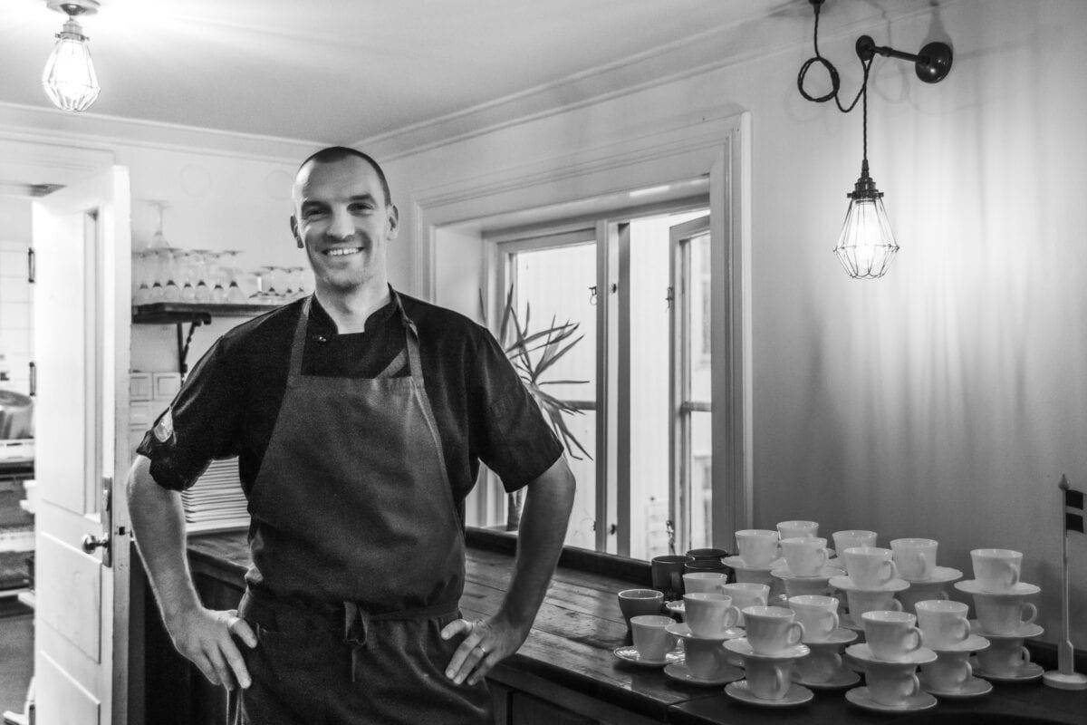 Chef Robin at Gamla Örebro Café & amp; Conference
