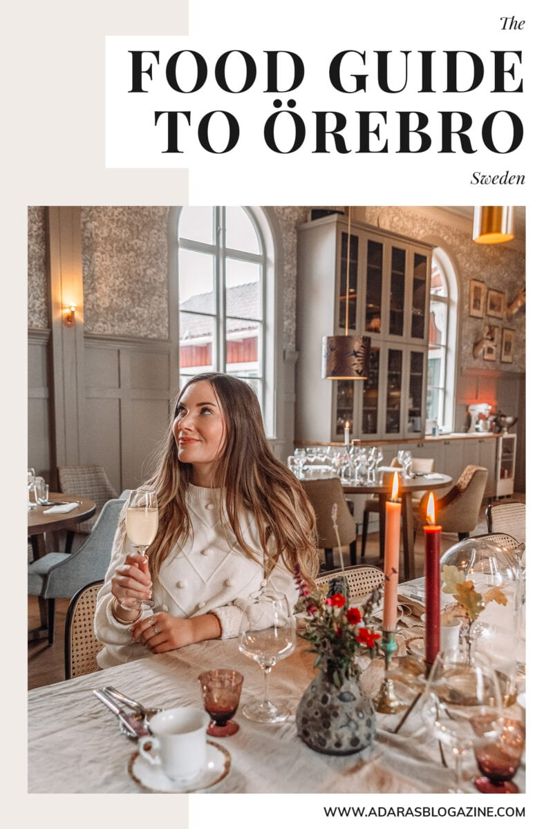 Food Guide: Best Restaurants in Örebro County, Sweden
